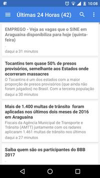 Notícias de Araguaína apk screenshot