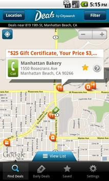 Deals by Citysearch poster