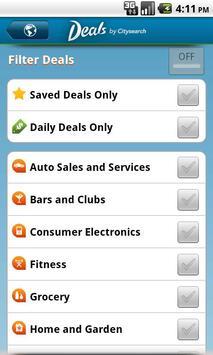 Deals by Citysearch apk screenshot