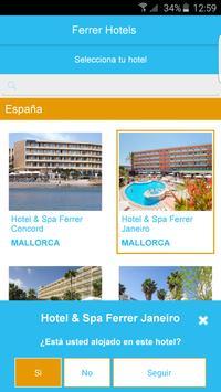 Ferrer Hotels poster