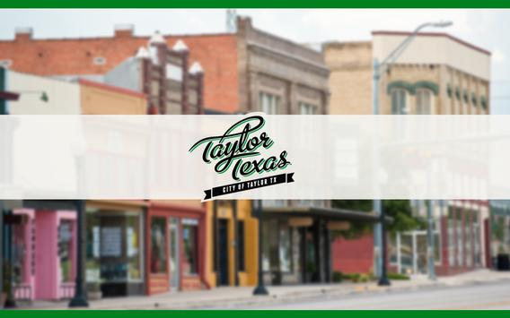 City of Taylor, Texas apk screenshot
