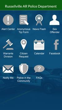 Russellville AR Police Dept apk screenshot