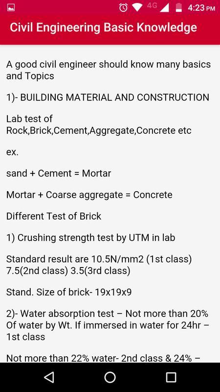 civil site engineer handbook