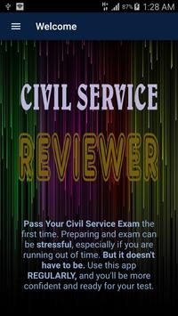 Civil Service Reviewer poster
