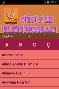 Çizgi Film İzleme Programı poster