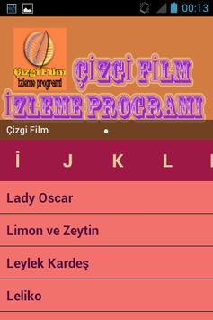 Çizgi Film İzleme Programı screenshot 1