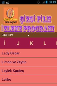 Çizgi Film İzleme Programı apk screenshot