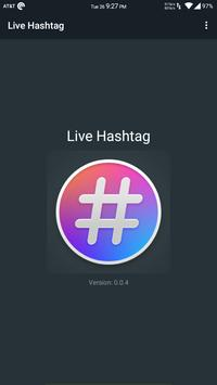 Live Hashtag screenshot 4