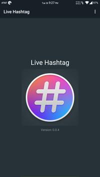 Live Hashtag screenshot 1