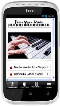Piano Music Radio poster