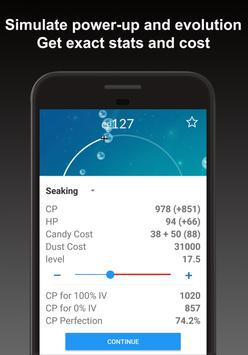 Poke Genie - 自動個体値 IV 計算機 apk スクリーンショット