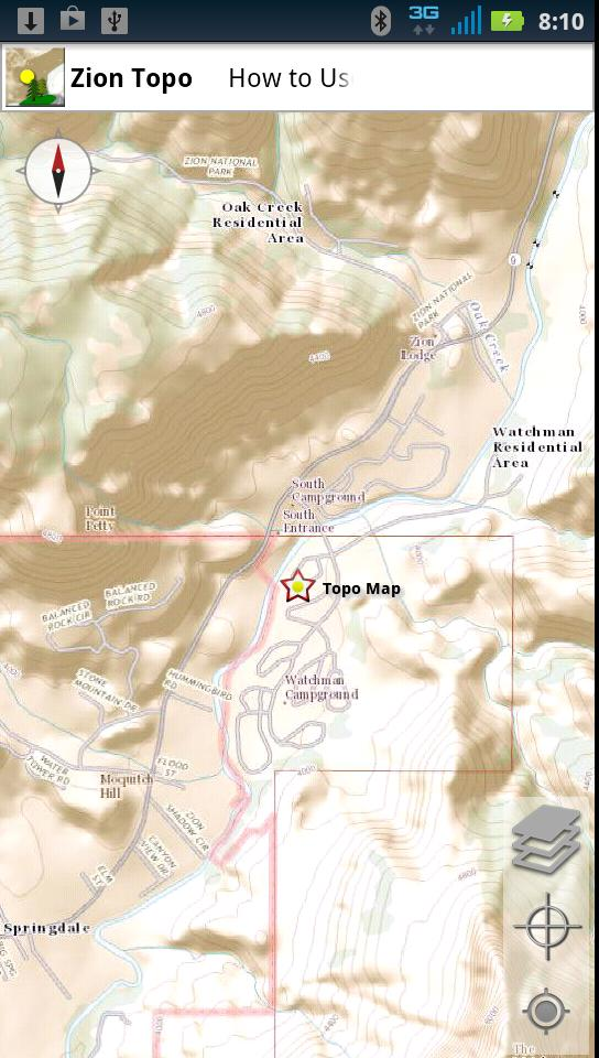 Zion National Park Topo for Android - APK Download on