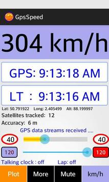 free speedometer voice alert poster