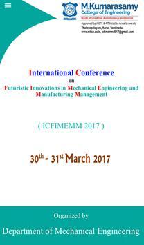 ICFIMEMM 2017 poster