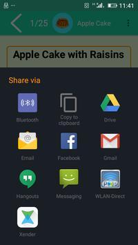 Amazing Cake Recipes apk screenshot