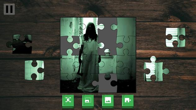 Scary Jigsaw puzzle poster