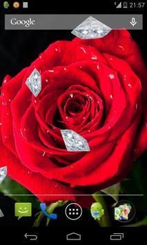 Diamonds and Roses LWP apk screenshot