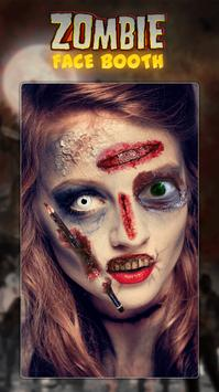 Zombie Face Booth poster