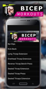 Bicep Workouts apk screenshot