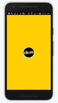 CKUA – Original Radio poster