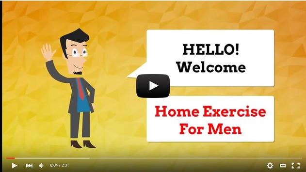 Home Exercise for Men apk screenshot