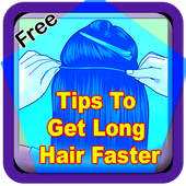 Tips To Get Long Hair Faster icon