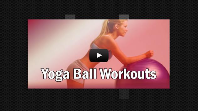 Yoga Ball Workouts apk screenshot