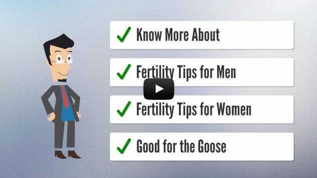 Tips for Infertility poster