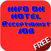Info on Hotel Receptionist Job icon