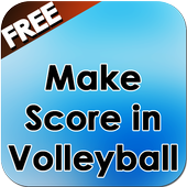 Make Score in Volleyball icon