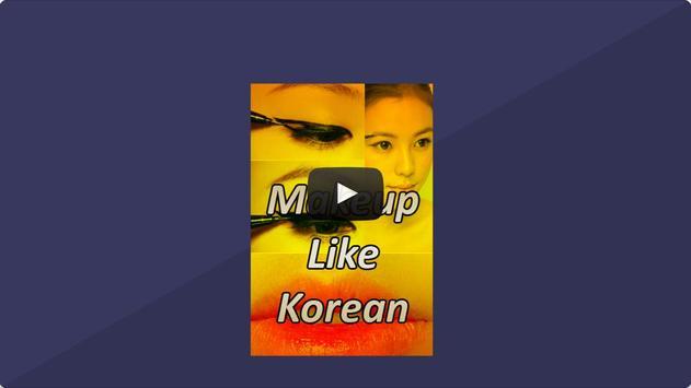 Make-up Like Korean apk screenshot