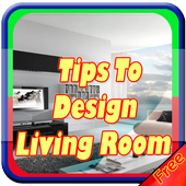 Tips To Design Living Room icon