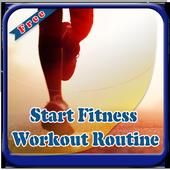 Start Fitness Workout Routine icon