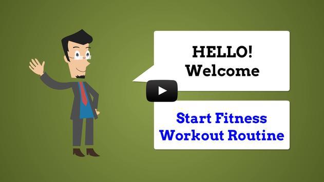 Start Fitness Workout Routine screenshot 2
