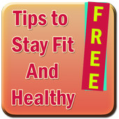 Tips To Stay Fit And Healthy icon