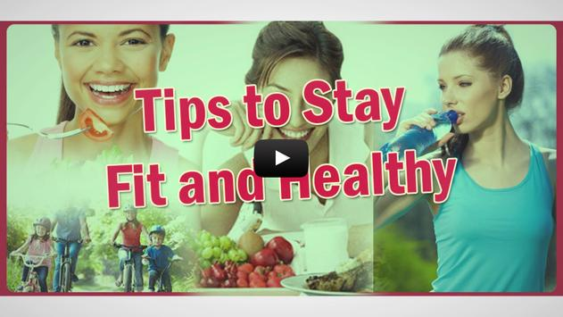 Tips To Stay Fit And Healthy screenshot 2