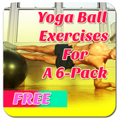 Yoga Ball Exercises For 6 Pack icon