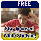 Stay Focused While Studying icon