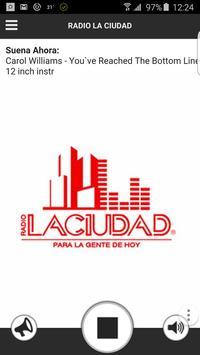 RADIO LA CIUDAD poster