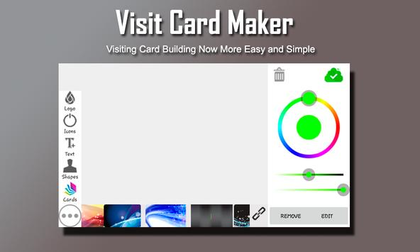Visiting Card Maker apk screenshot