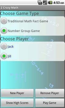 Z Crazy Math screenshot 4