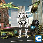 Army Transform Robot Hero icon