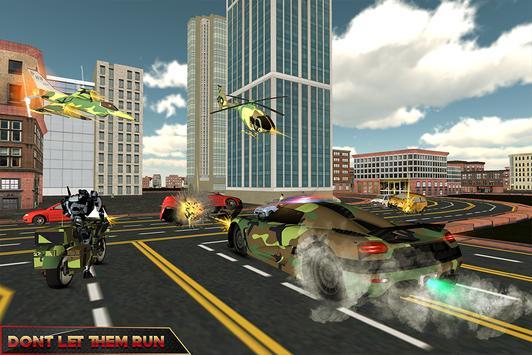 Army Transform Robot Hero apk screenshot