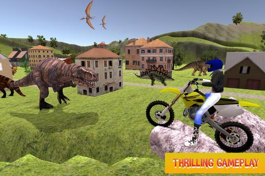 Bike Racing in Dino World apk screenshot