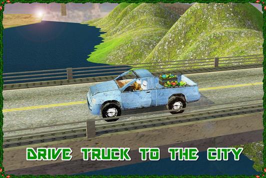 City Cargo Transporter Truck apk screenshot