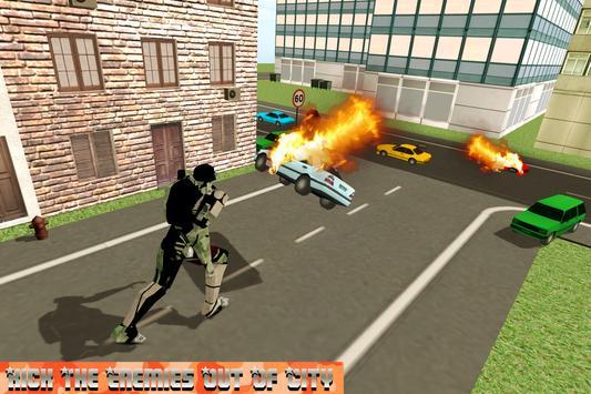 Flying Robot Tank Transformer screenshot 7