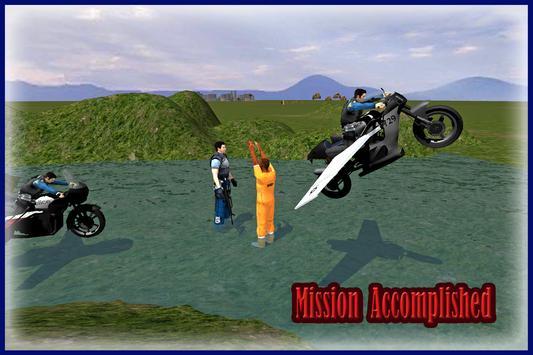 Flying Police Bike Simulator apk screenshot