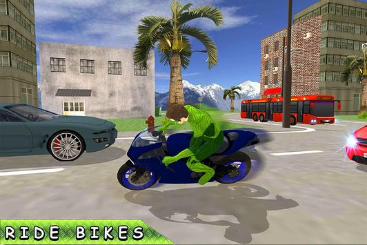 Green Ring Hero Crime Battle screenshot 3