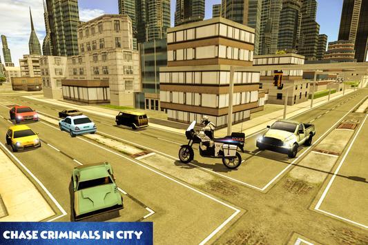 Police Robot Bike Chase apk screenshot