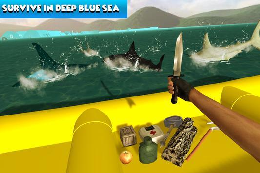 Survive on Raft Craft.io apk screenshot
